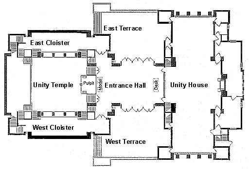 Unity Homes Floor Plans: Unity Temple